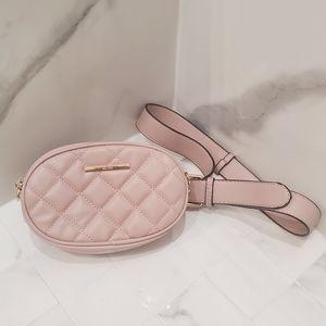Pink Crossbody Bag/Belt